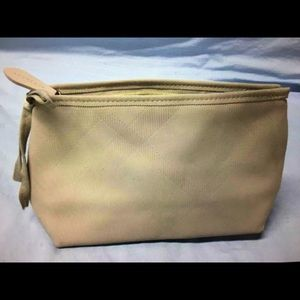 NEW BURBERRY cosmetic bag.